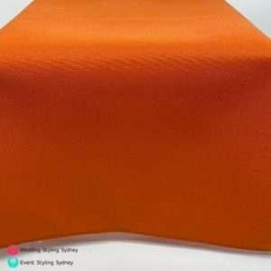 orange-linen-tablecloth-hire