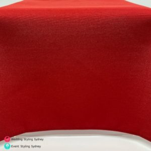 red-linen-tablecloth-hire