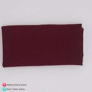 burgundy-caress-napkin-hire
