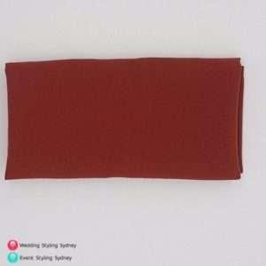rust-napkin-hire