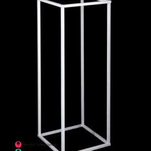White-Metal-Floral-Stand