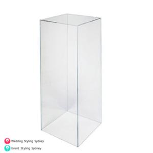 clear-acrylic-70cm-plinth-hire