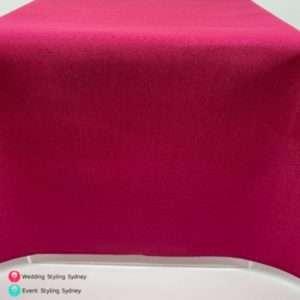 fuchsia-linen-tablecloth-hire