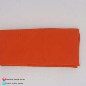 orange-caress-napkin-hire