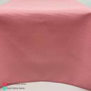 light-pink-linen-tablecloth-hire