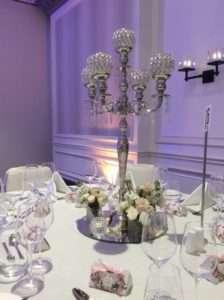 Crystal-candelabra-wedding-centrepiece