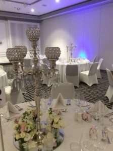 Intercon-double-bay-wedding-reception-centrepiece