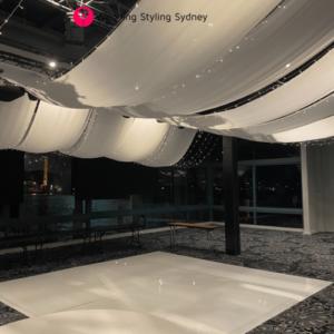 Wedding-Ceiling-drape-installation-pier-one-16