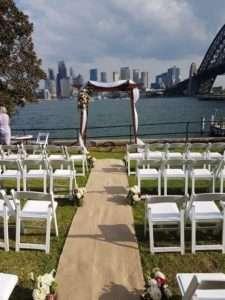 captain-henry-waterhouse-reserve-sydney-harbour-wedding-ceremony-2-min