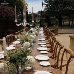 Centennial-Vineyards-Bowral-Wedding-Reception-Long-Banquet-Table-Setting