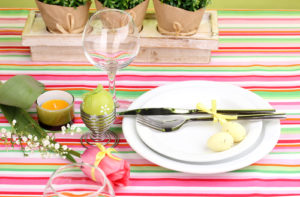 colourful-striped-tablecloth