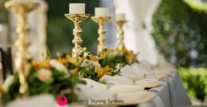 Outdoor Wedding-gold-wedding-Reception-Styling