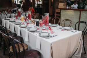 red-internal-orchid-wedding-centrepiece