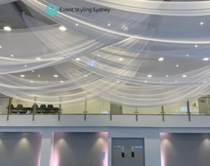 Luna Park Event Ceiling Drapes