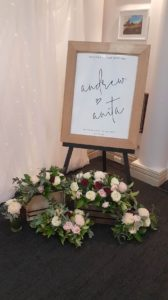 monash-country-club-wedding-reception-welcome-sign-