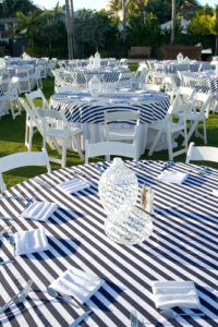 navy-white-striped-tablecloth