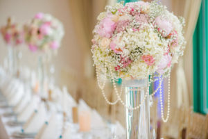 pastel-tall-floral-centrepiece-pilsener-vase-with-pearls