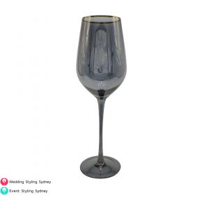 black-wine-glass-hire-with-gold-rim
